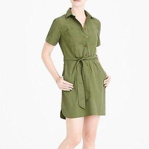 J. Crew Mercantile / Green Shirt Dress